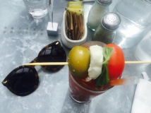 Bloody Mary at the Oxford Exchange