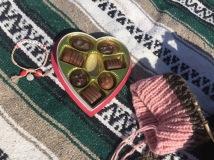 Chocolates x Soccer Knitting