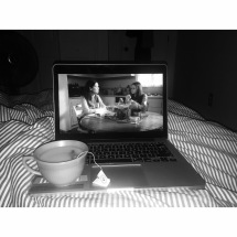 Nightly Gilmore Girls x Chamomile Lavendar Tea with honey