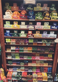 Wall of incense